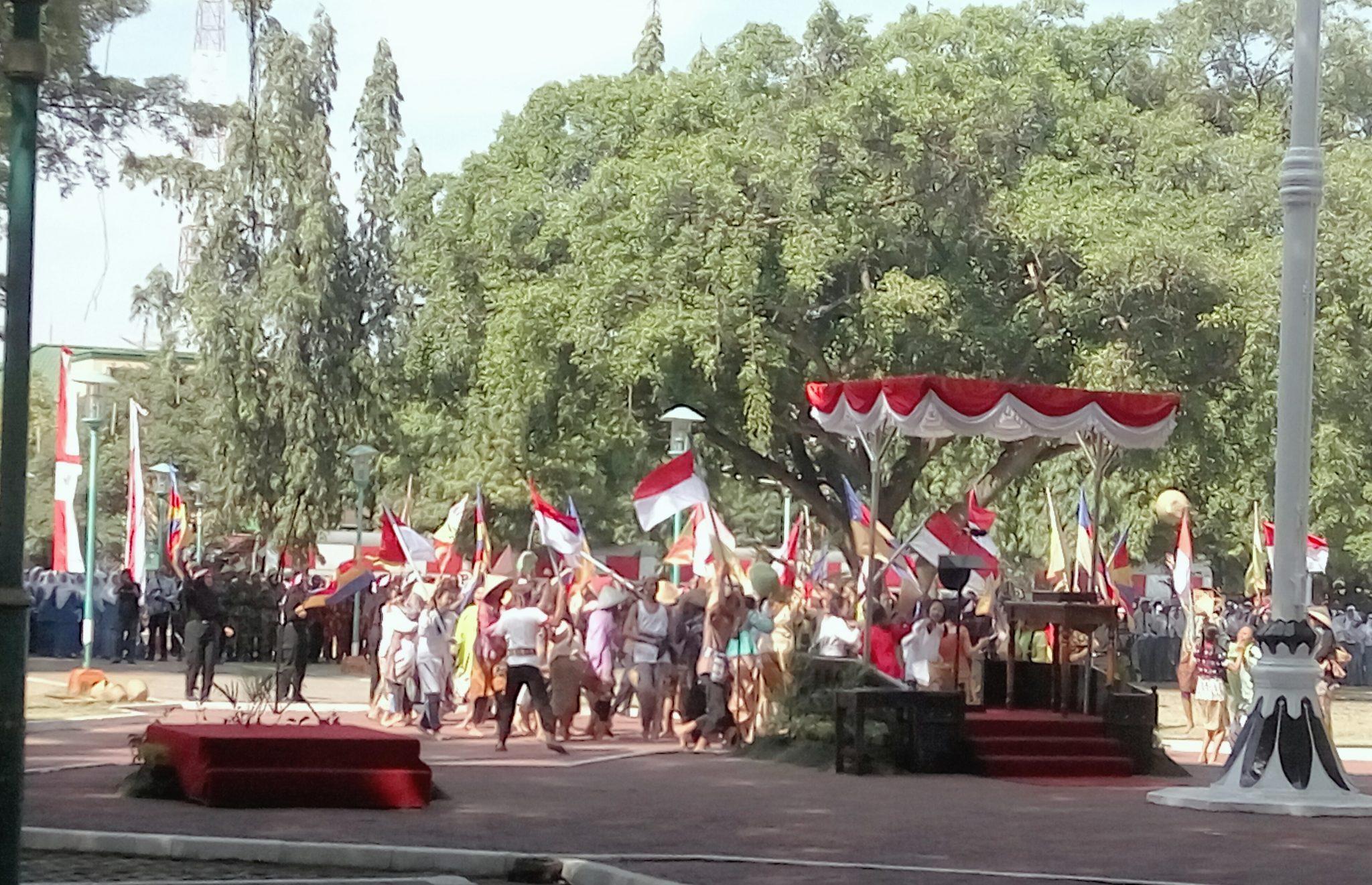 Drama Kolosal Texmaco Dalam Upacara Kemerdekaan Di Alun-alun Pemalang